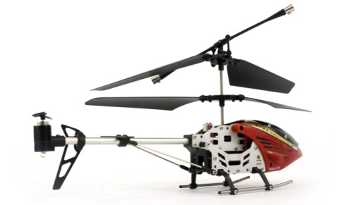 Team RC Hawk Talon V3 Mini 3CH Metal Helicopter w/ Gyro RED