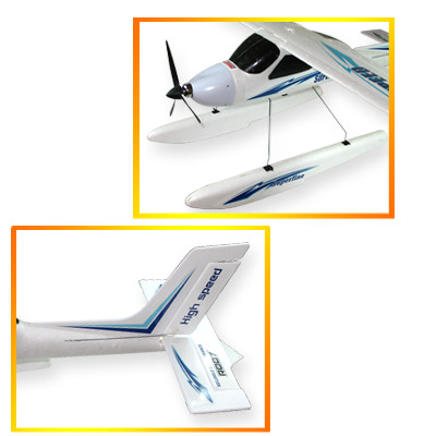 "46"" Wingspan 4CH RC Sea Plane, Land on Water or Land"