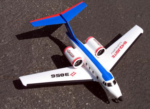 """29.5"""" Wingspan Air Earl Passanger Air Plane 2CH RC Jet"""
