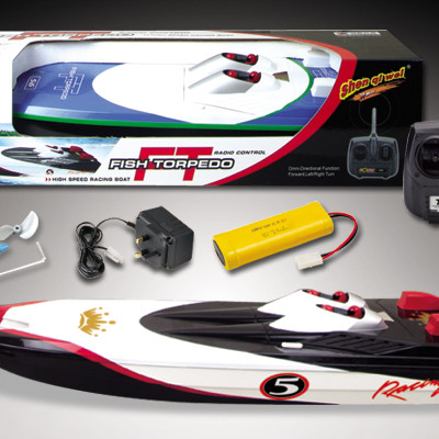 "29"" Apparition EP High Speed Dual Engine RC Racing Speed Boat Black Color"