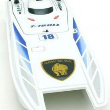 "40"" 1/14 Huge Scale Admiral Electric RC Speed Boat WHITE"