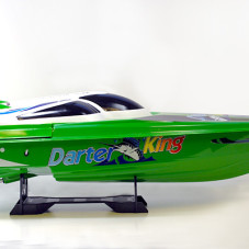 "45""Huge Gigantically Huge Darter King High Performance Electric EP Racing Speed Boat BT34 RED"