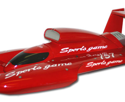 "29"" Hydro Off-Shore RC Racing Boat BT76 RED"