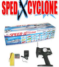 "36"" 1:16 Speed xcyclone racing boat  BXC WHITE"
