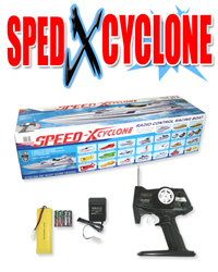 "36"" 1:16 Speed xcyclone racing boat  BXC WHITE"
