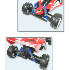 "18.5"" Shark Off Road Buggy RC Racer Car RED"