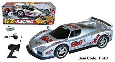 """17"""" Ferrari Enzo Four Wheel Drive Racing Car 1:10 (Silver)"""