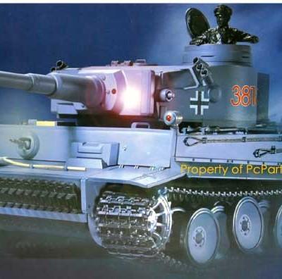 """21"""" WWII German Panzer Tiger RC Battle Tank"""