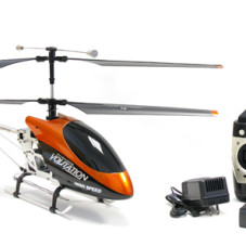 "26"" 3 Channel Hawk Talon Outdoor Volitation Metal Helicopter w/ Built in Gyro"