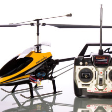 3Ch 9101 Co-Axial Remote Control RC Helicopter w/ Built in Gyro Color Silver