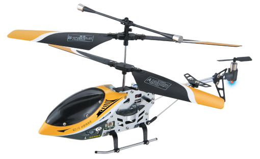 Team RC Hawk Talon V3 Mini 3CH Metal Helicopter w/ Gyro RED 1