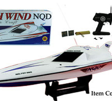 "29.5"" High Wing Racing Boat  HWC7 Red"