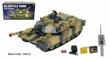 "16"" Remote Control Battle Tank"