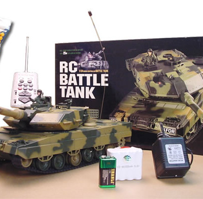 "16"" 1:24 German Leopard RC Tank"
