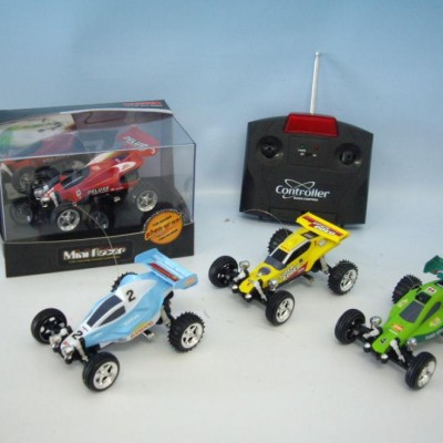 "4"" 1:52 scale Mini RC Kart MC21 RED"