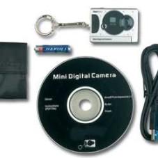 World's Smallest Digital Camera withWeb Cam - Video Cam Build-In