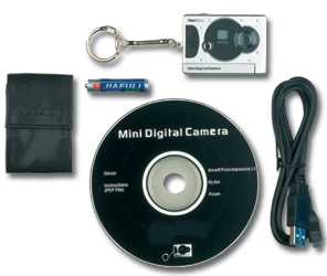 World's Smallest Digital Camera withWeb Cam - Video Cam Build-In