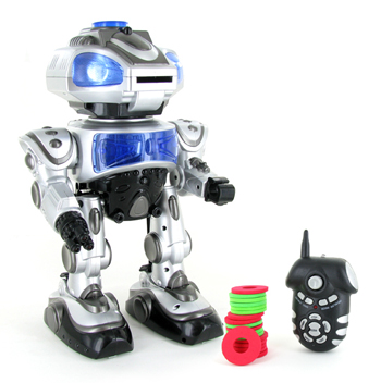 Robokid Programmable Disk Shooting Electric RC Robot