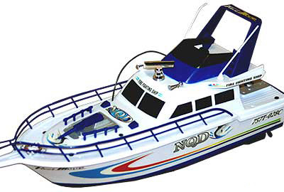 "18"" Fire Fighting RC Boat BLUE"