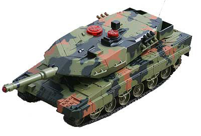 "14.5"" Infrared combat tank (ONE PIECE ONLY) IRTANK Green"