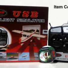 6CH Flight Simulator Training Kit Planes and Helis w/ USB Cable