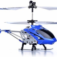 "8.7"" Mini 3CH S107G Metal Helicopter w/Gyro Blue"