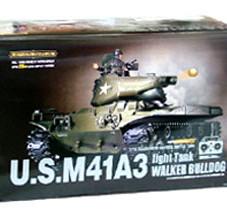 1:16 US M41A3 w/ Smoke & Sound RC Battle Tank