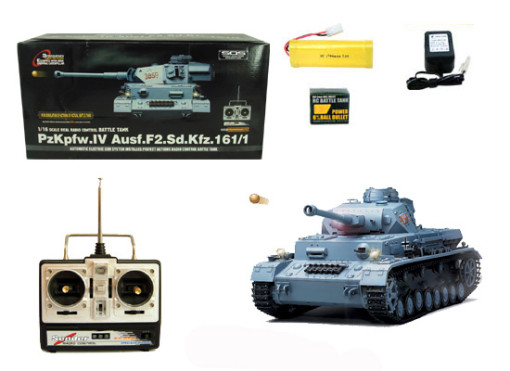 1/16 Scale PzKpfw.IV Ausf.F2.Sd