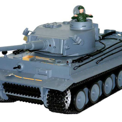 1:16 RC German Tiger w/ Smoke & Sound Tank