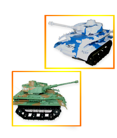 """12"""" RC Tank for Land and Water, 360 Degree Turn TAV GREEN"""