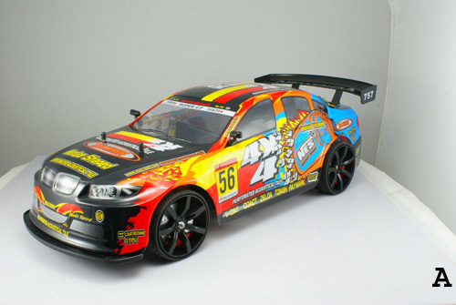 1/10 scale 4WD Drift RC Racing Car Type A 1
