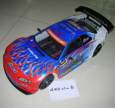 1/10 scale 4WD Drift RC Racing Car Type B
